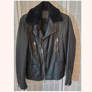 All Saints Hutchins Biker Jacket